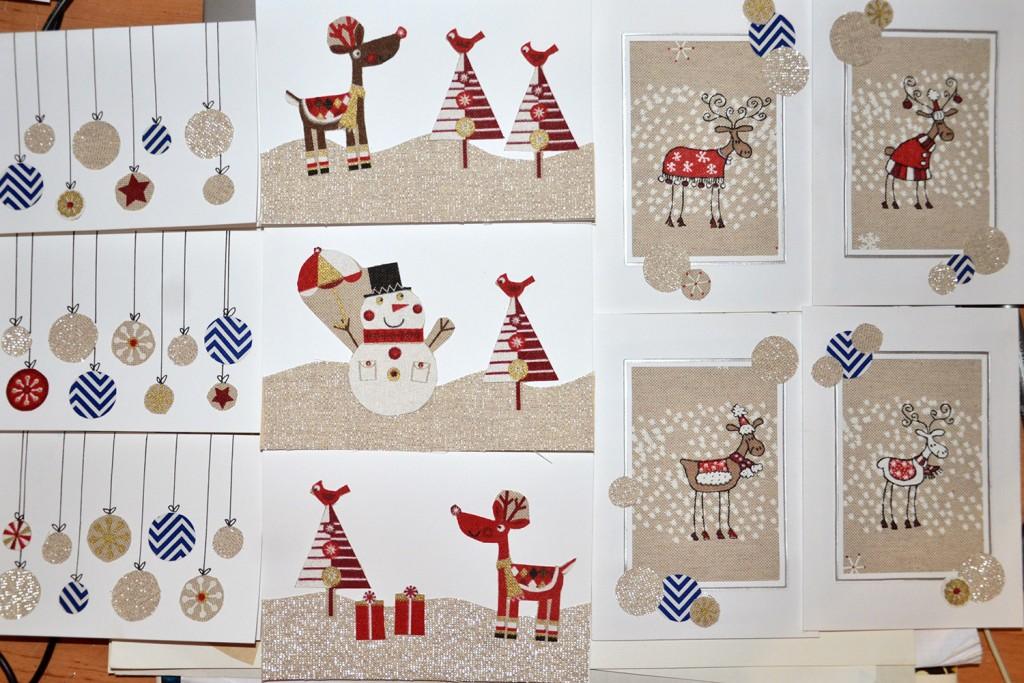 Christmas new year cards finished