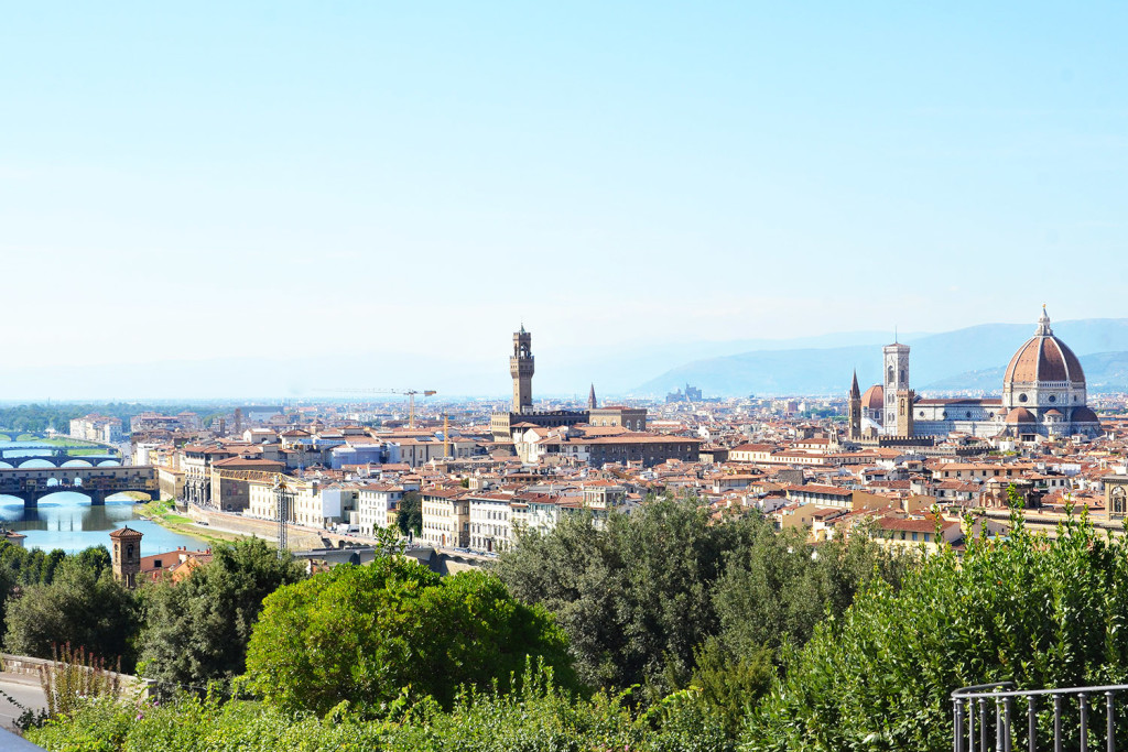 Italian Florence: 3 Days In Italy: Day One